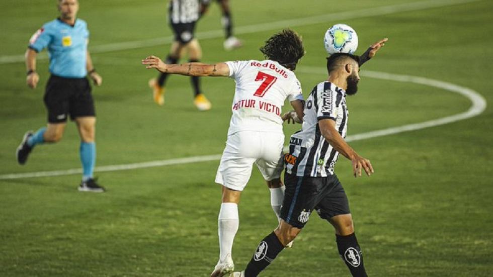 Santos vacila e cede empate ao Red Bull Bragantino com gol no último lance