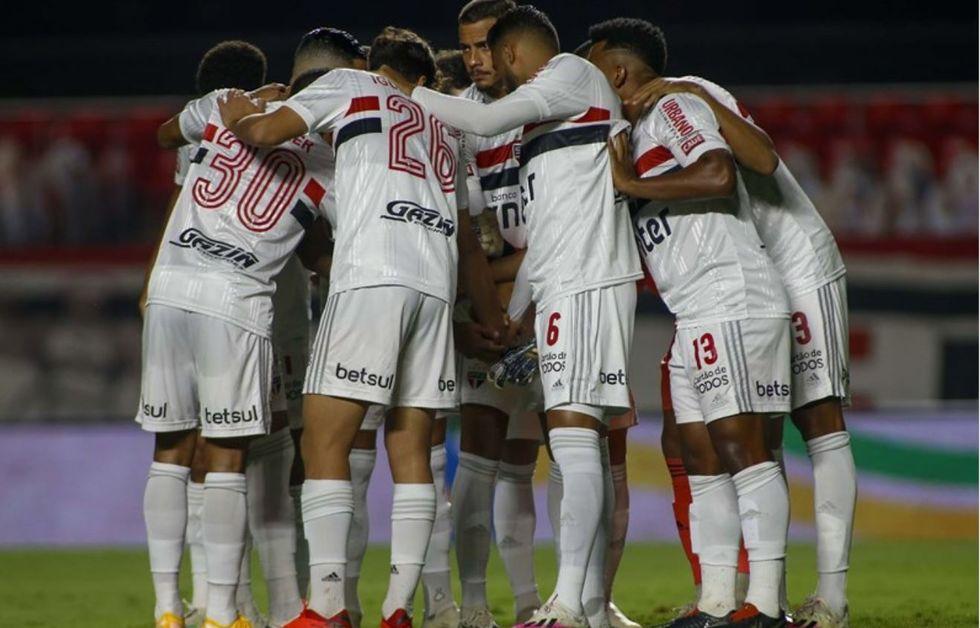 São Paulo coloca força máxima contra o Vasco