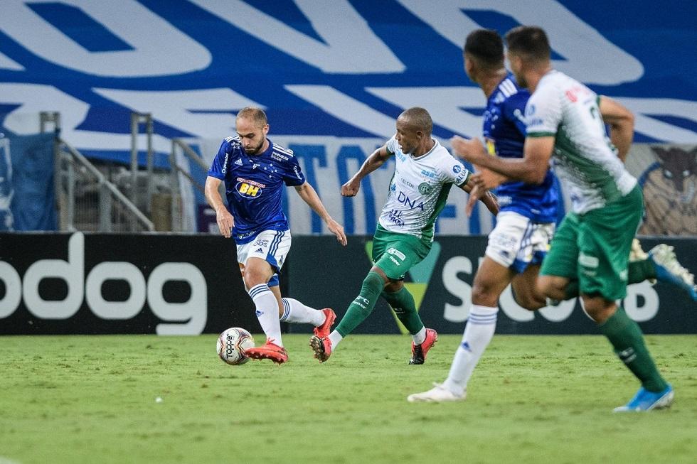 Cruzeiro e Guarani empatam por 3 a 3 na Série B