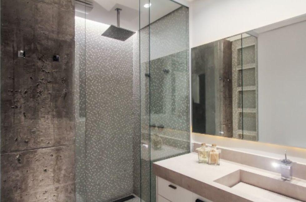 Qual a diferença entre concreto aparente e cimento queimado?