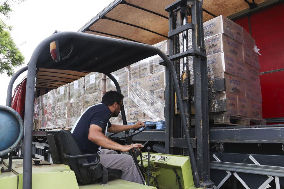 'Alimento Solidário' envia 7.800 cestas a Sorocaba
