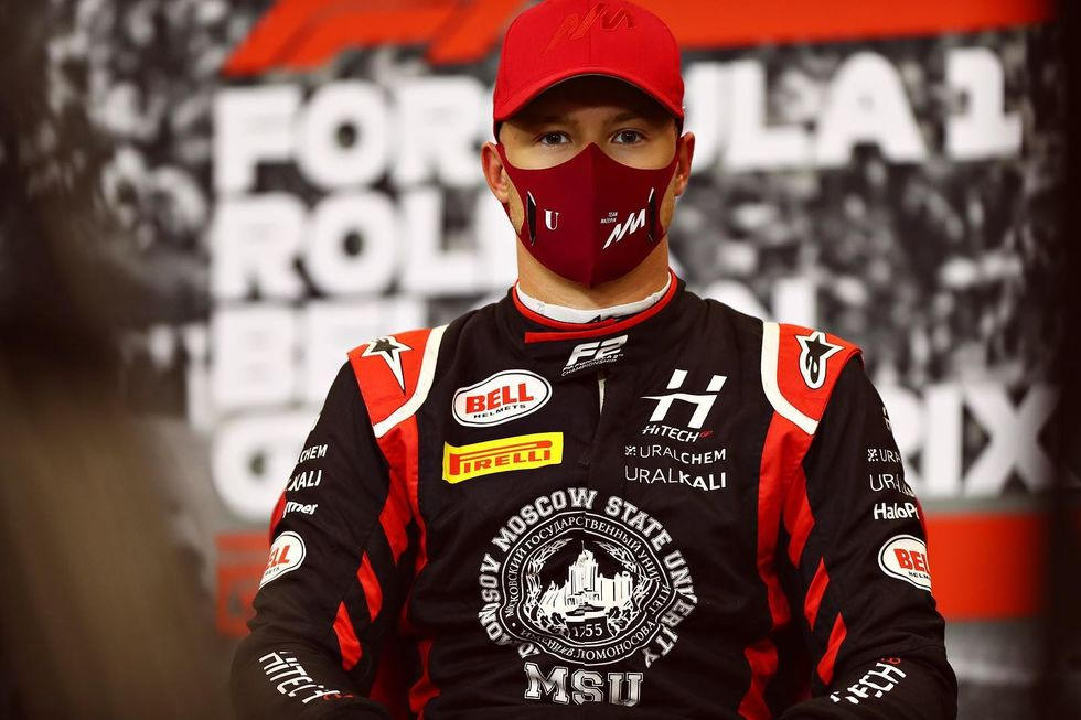 Haas confirma Mazepin na F1