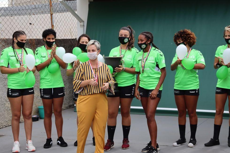 Handebol feminino ganha apoio da Unimed Sorocaba
