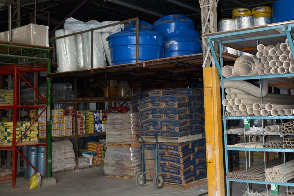 Indústria de materiais de construção fatura 15% mais