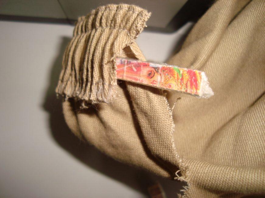 LSD é encontrado no cós de uma calça enviada ao CDP de Aparecidinha