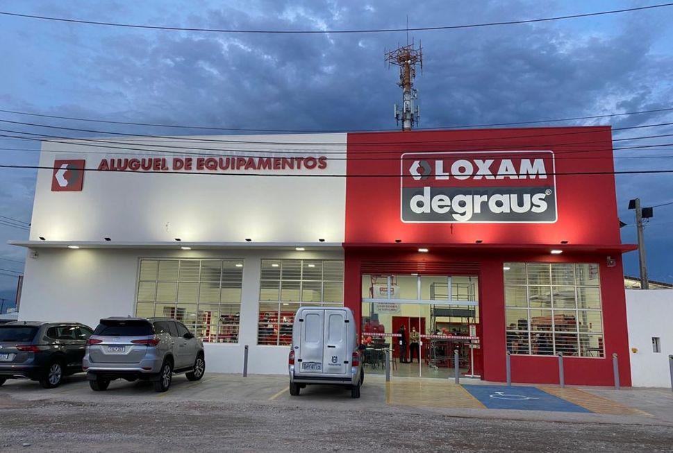 Presença: Loxam Degraus inaugura nova filial em Sorocaba