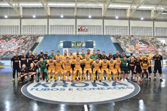 Magnus Futsal é bicampeão invicto da Liga Nacional de Futsal