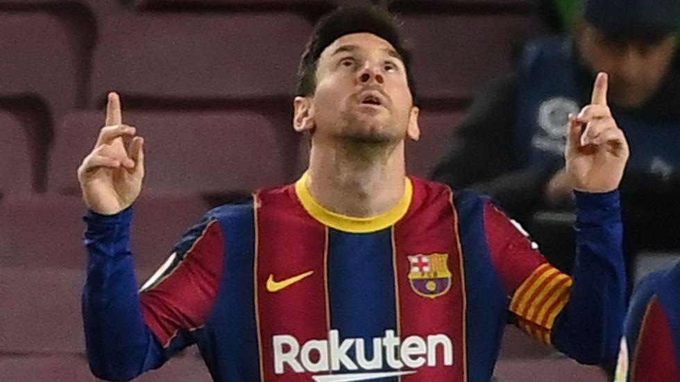 Messi marca o 643º gol pelo Barça e alcança Pelé