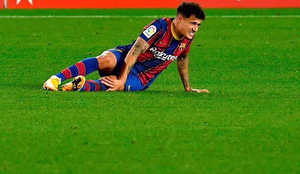 Philippe Coutinho vai operar joelho