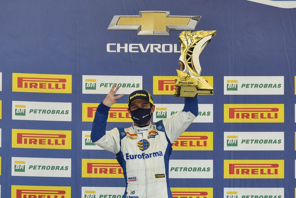Ricardo Maurício é campeão da Stock