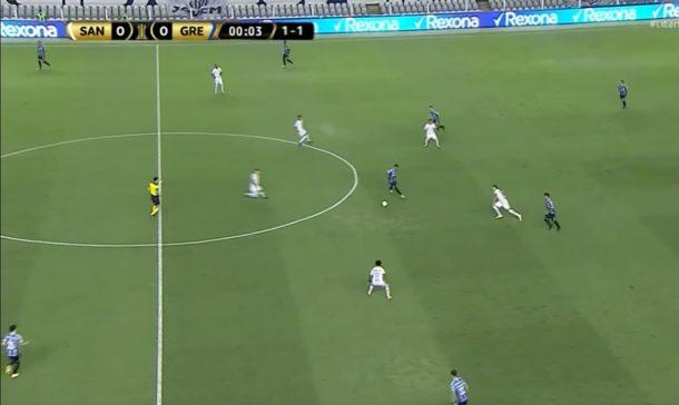Santos atropela o Grêmio e se garante na semifinal da Libertadores