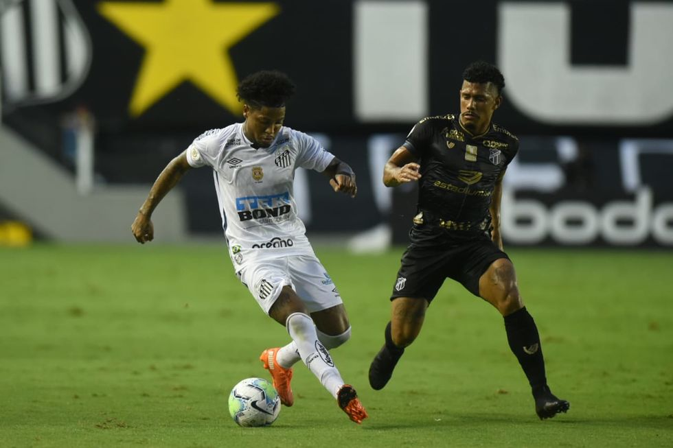 Santos tropeça no Ceará outra vez