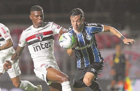 São Paulo não consegue passar pelo Grêmio e é eliminado