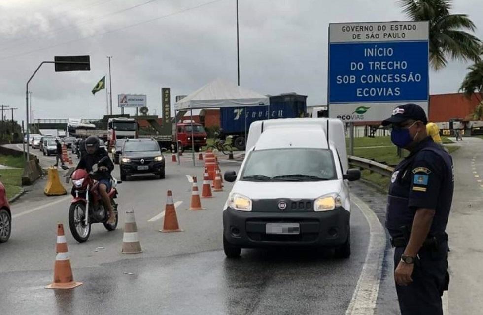 Operações reforçam policiamento nas rodovias paulistas e litoral