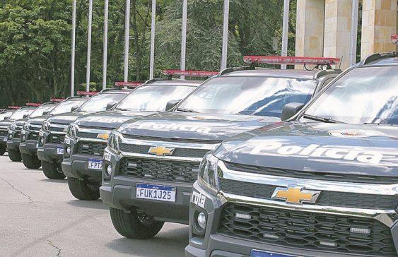 Polícia Militar de Sorocaba terá cinco novas viaturas
