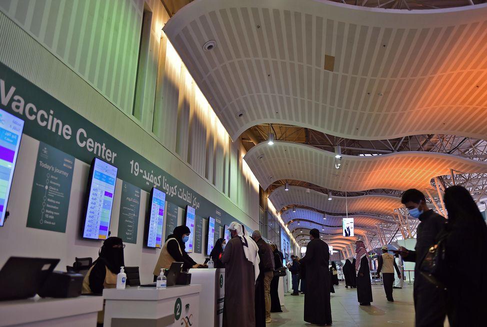 Arábia Saudita veta voos do Brasil
