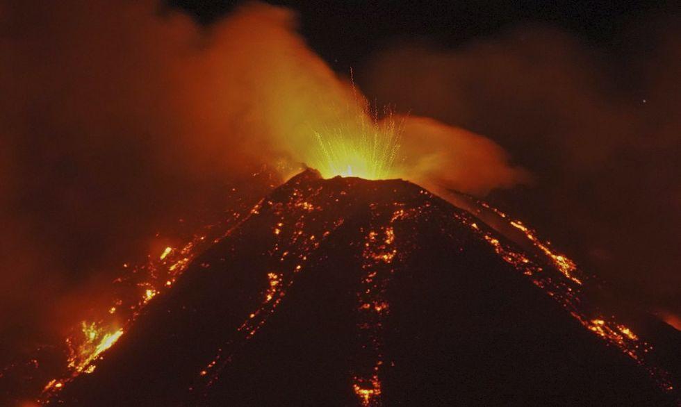 Vulcão Etna assusta a Itália