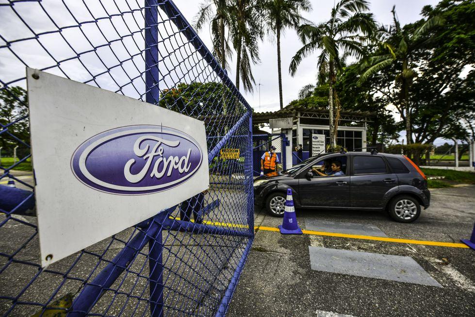 Fábrica da Ford será centro logístico