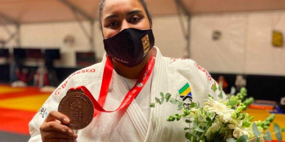 Judoca brasileira ganha bronze no GS de Israel