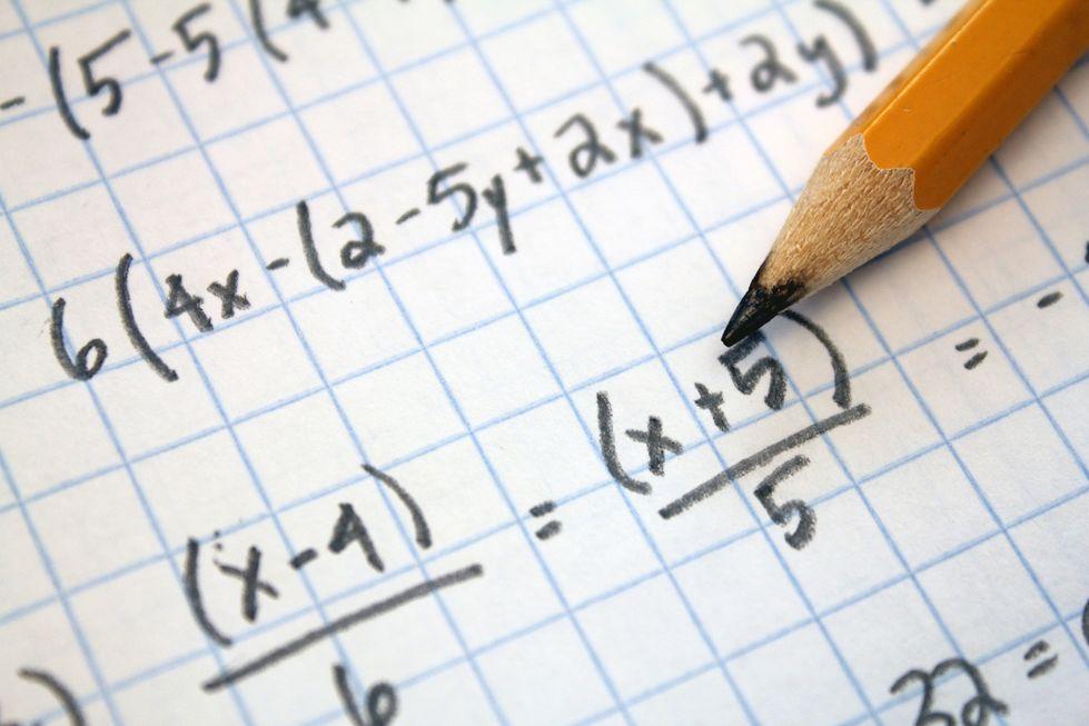Só 5% tem bom nível em Matemática