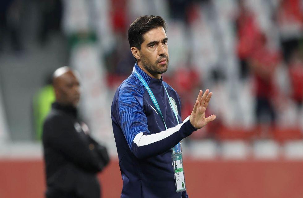 Técnico do Palmeiras, Abel Ferreira.