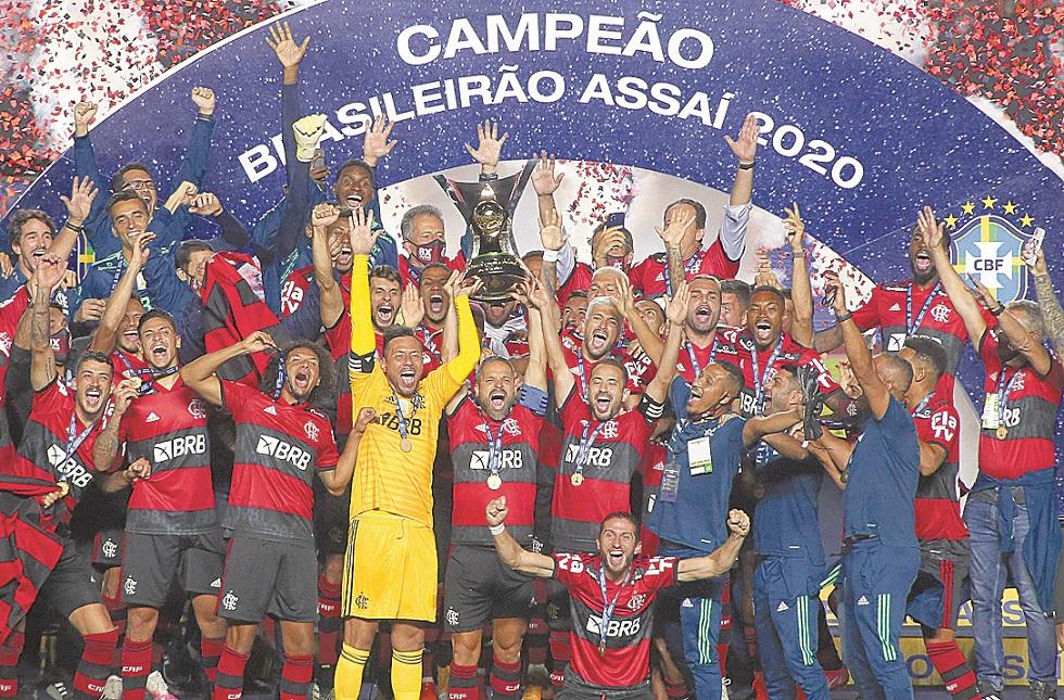 Flamengo perde do São Paulo, mas é bicampeão brasileiro