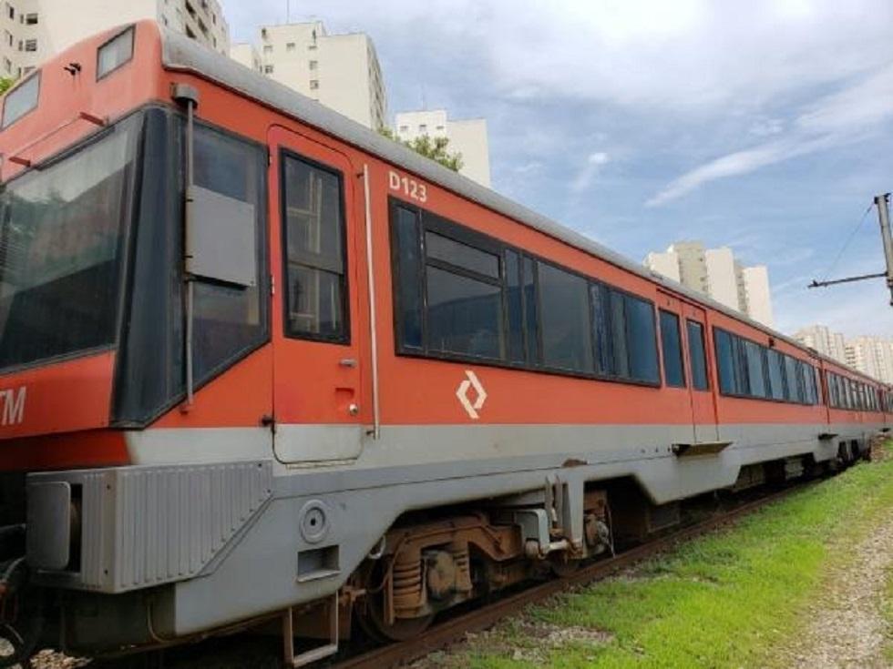CTPM faz leilão de trens fora de uso e sucatas na sexta-feira