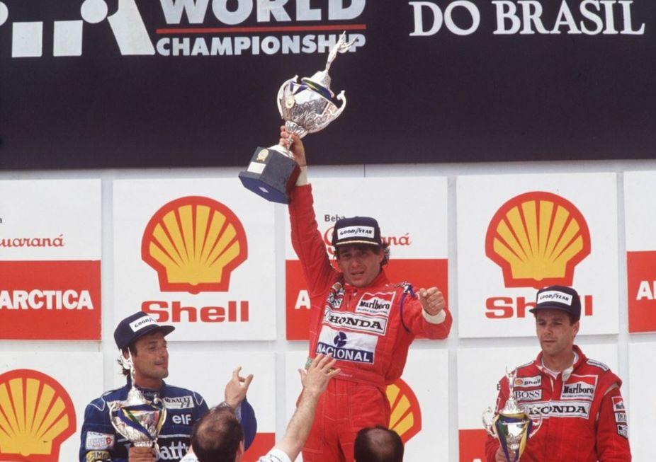 1ª vitória de Senna em SP faz 30 anos