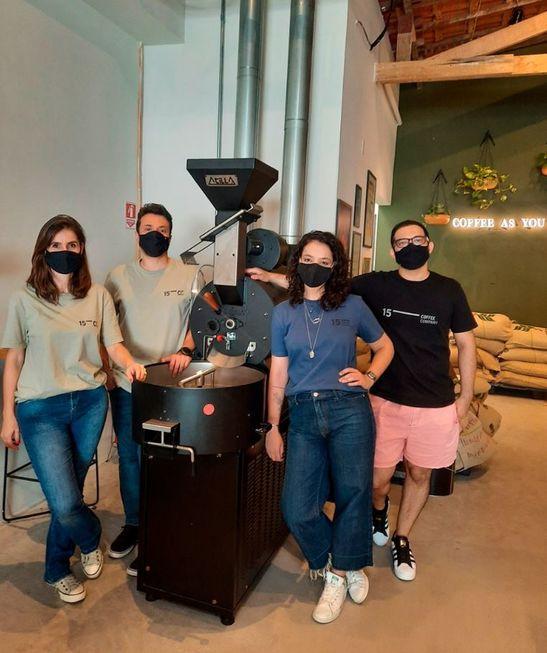 Presença: Apreciadores de cafés especiais ganham novo espaço