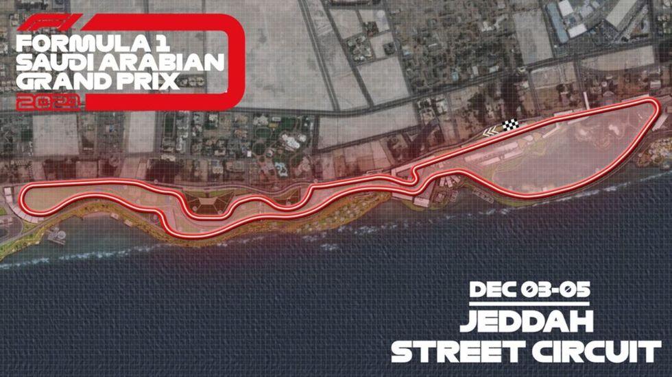 Arábia terá circuito de rua