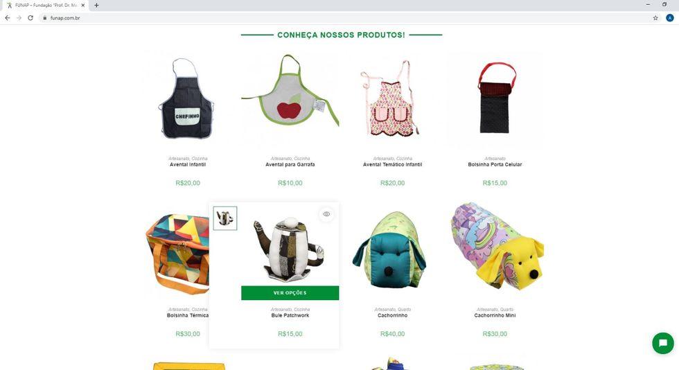 Artesanato de presos é vendido em e-commerce