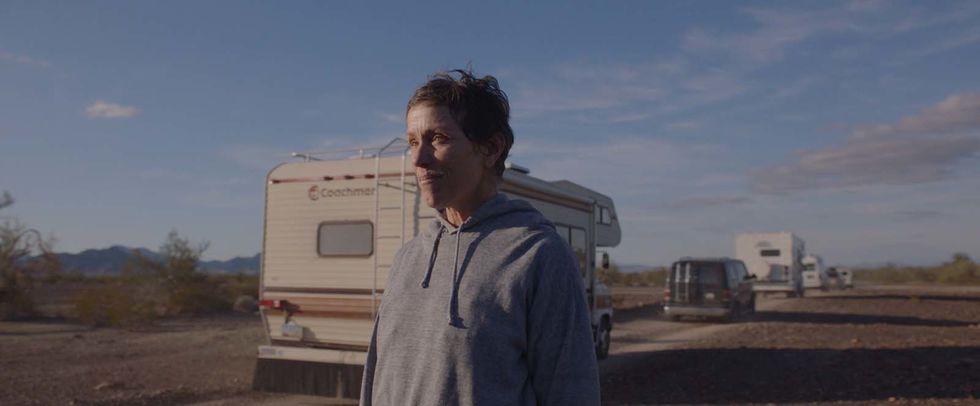 'Nomadland': melhor filme e 'The Crown', a melhor série de TV
