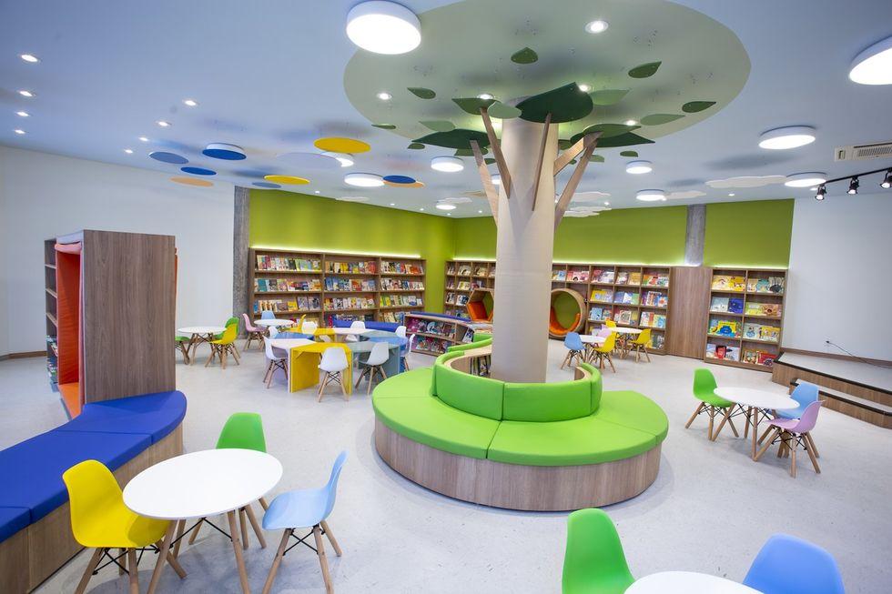 Presença: Escola Portal inaugura nova Biblioteca Infantil Interativa