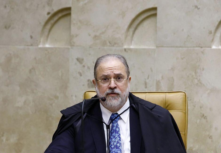 O procurador-geral Augusto Aras.