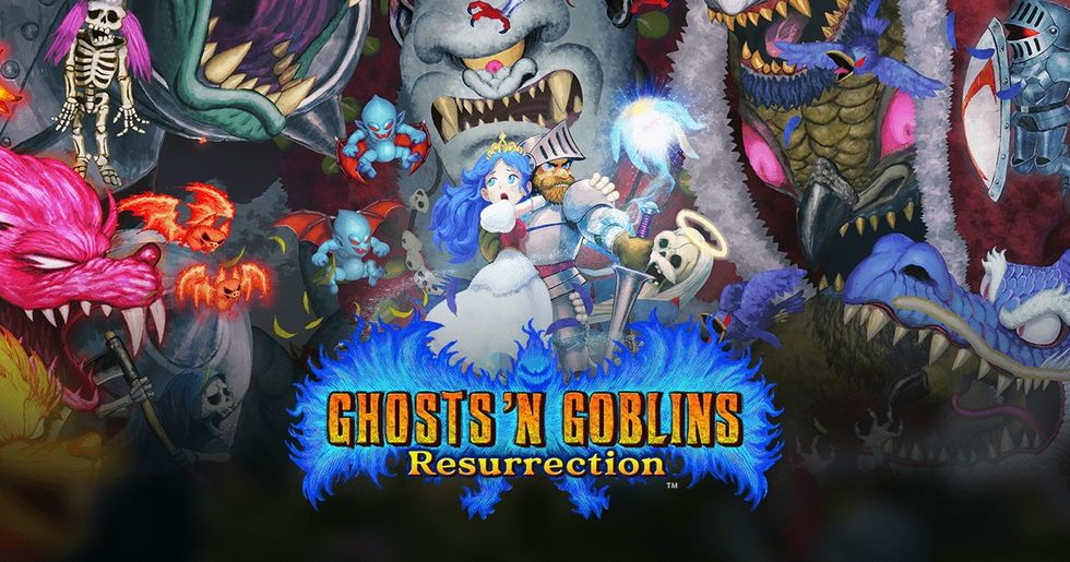 Ghosts'n Goblins: a ressurreição de um clássico