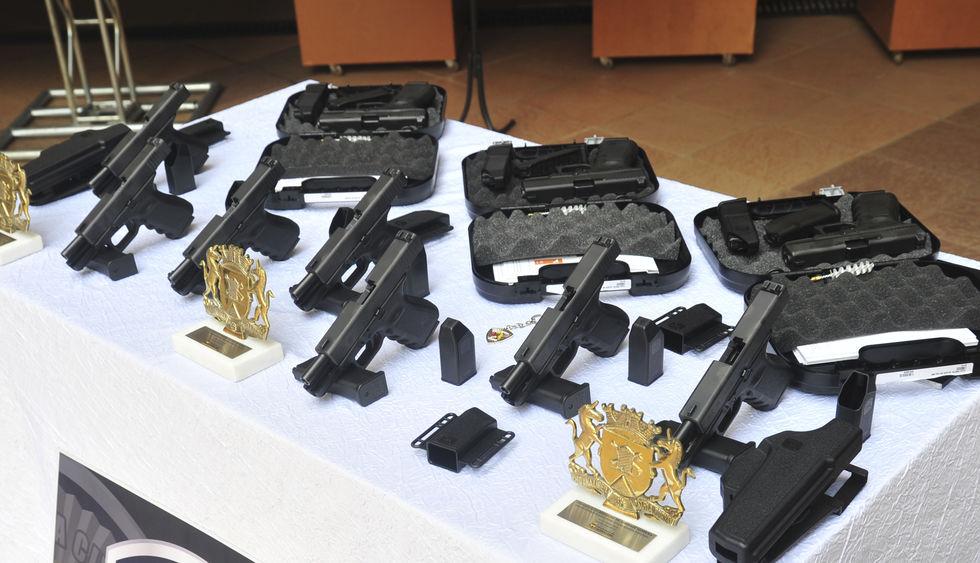 Guarda Civil Municipal recebe novas pistolas