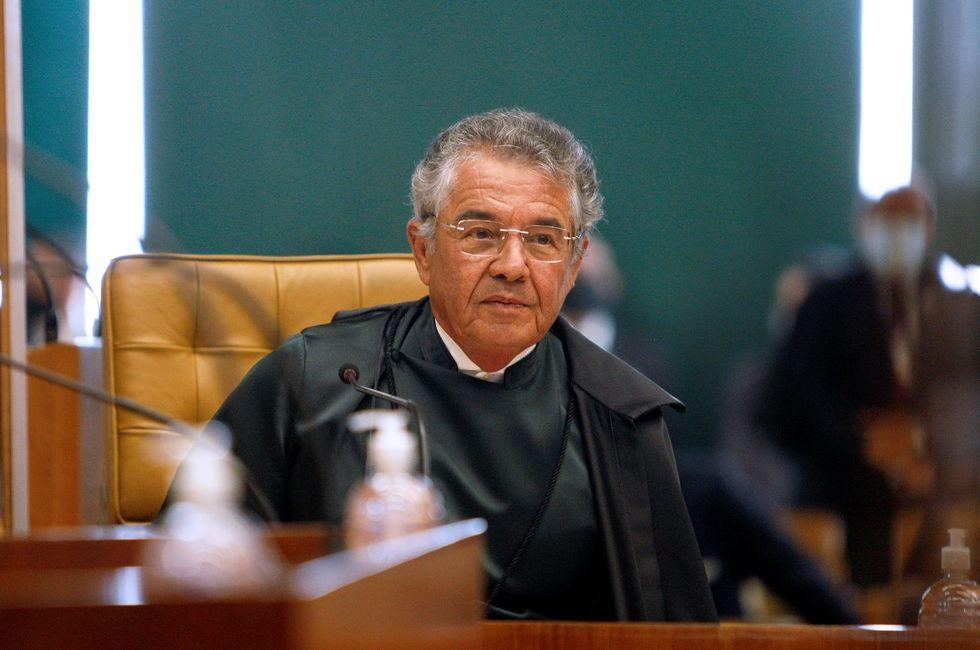 Marco Aurélio se aposenta em 5 de julho
