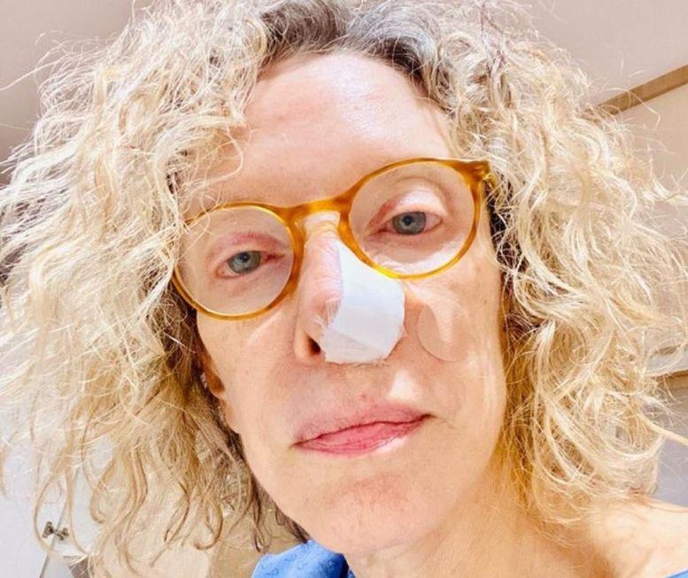 Marília Gabriela passa por cirurgia para retirada de câncer de pele