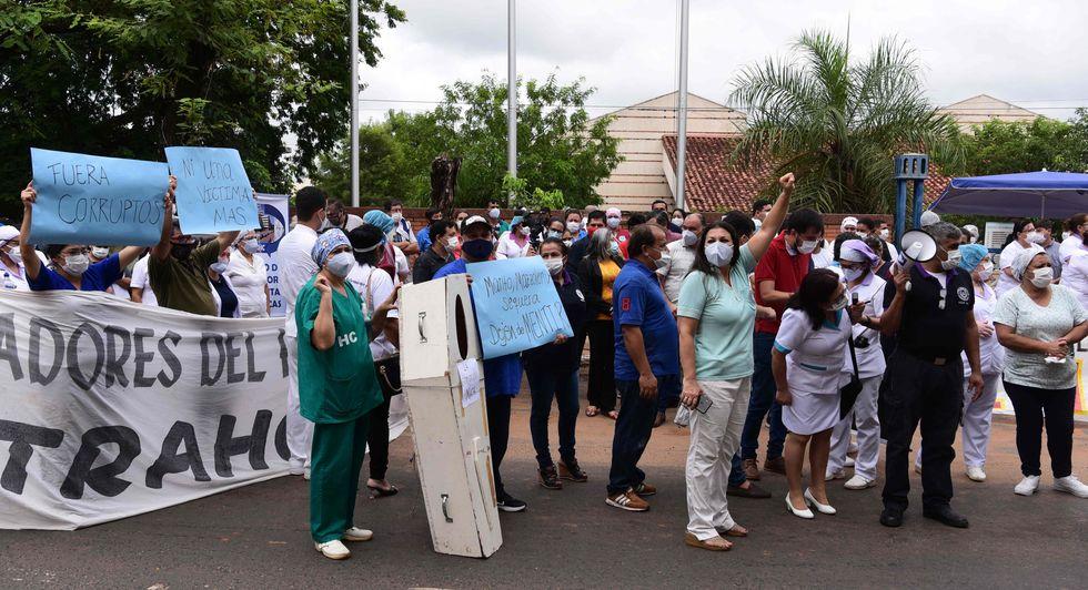 Paraguai enfrenta protestos por má gestão na pandemia