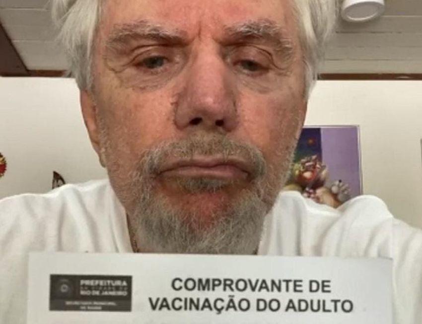 Reginaldo Faria desmente fake news sobre não ter se vacinado