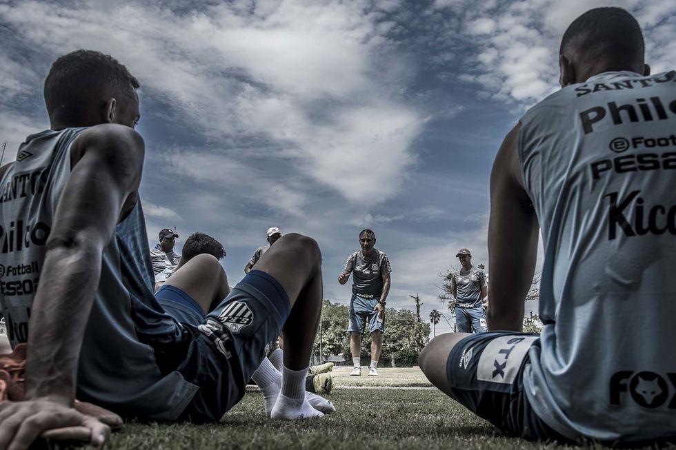 Santos treina em Atibaia esta semana