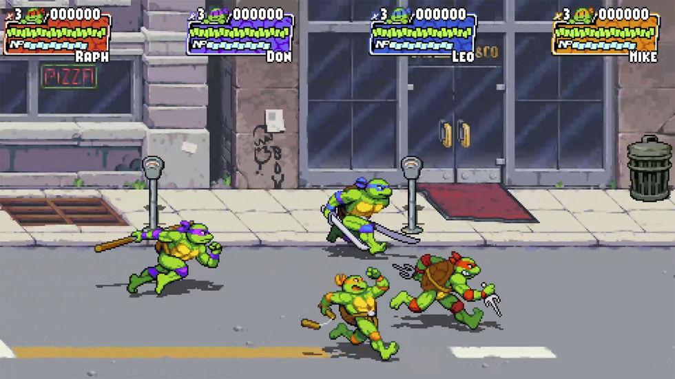 Shredder's Revenge é o retorno radical das Tartarugas Ninja