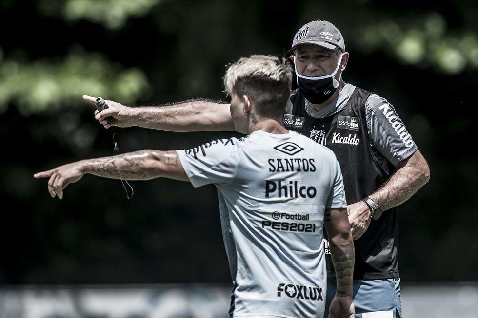 Santos recebe a Inter de Limeira