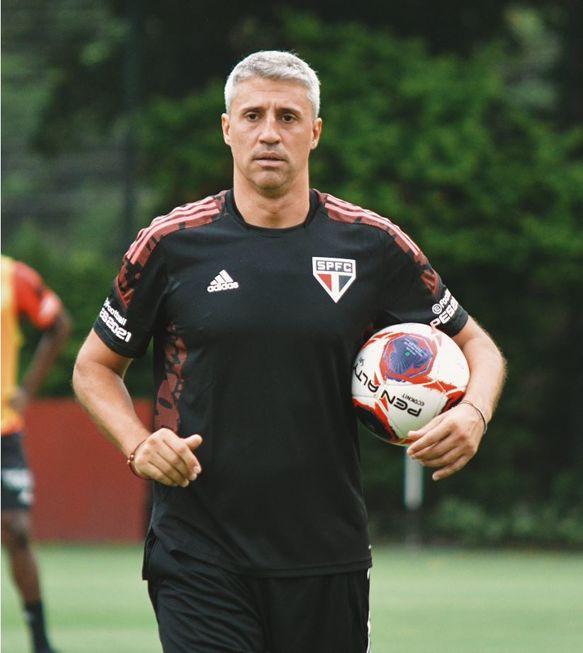 Hernán Crespo, técnico são-paulino.