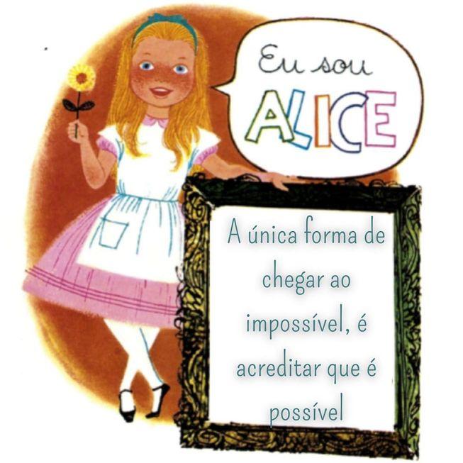 'Alice' nas ilustrações de Darcy Penteado