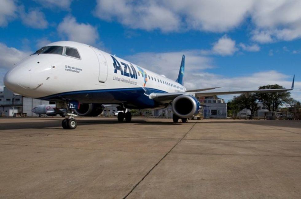 Azul volta a voar para Portugal