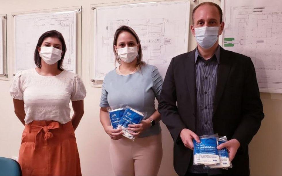 Doação de máscaras