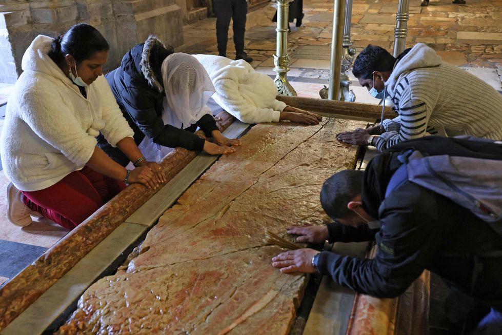 Em Jerusalém, Páscoa é revivida