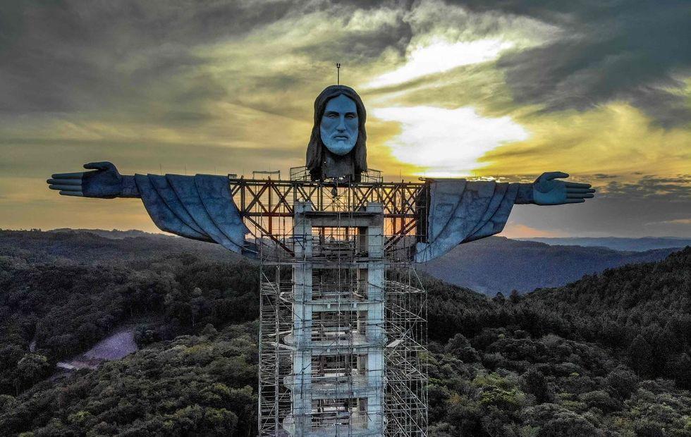 Gaúchos terão Cristo maior que o do Rio