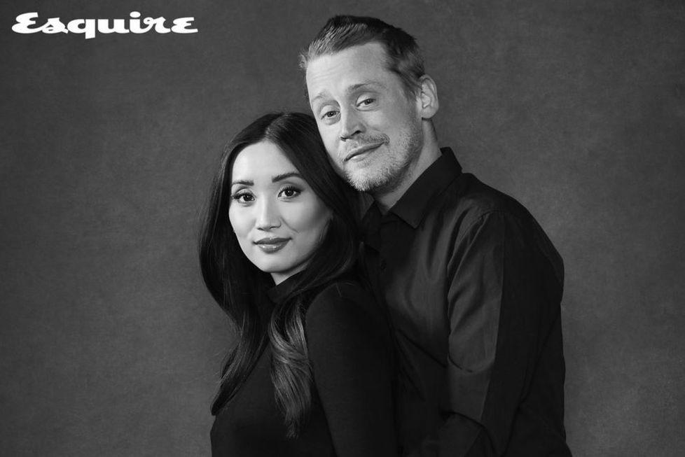 Macaulay e Brenda anunciam o 1º filho